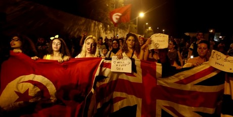 Protest in Sousse