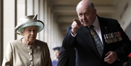 The Queen and Gen Cosgrove