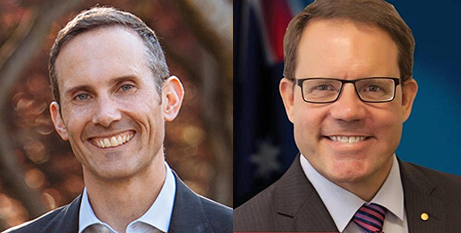 Labor MPs Andrew Leigh (left) and Luke Gosling (Facebook)