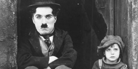 Charlie Chaplin and the Kid