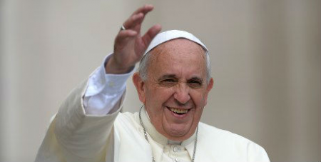 Pope Francis in St Peters June 25