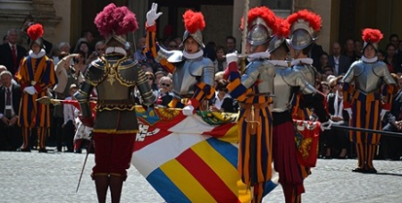 Swearing in of the Swiss Guard on May 6