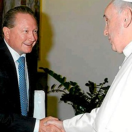 Mr Forrest and the Pope