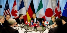 G7 leaders discuss Ukraine crisis