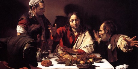 Supper at Emmaus by Carravaggio