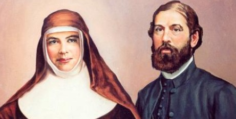 St Mary MacKillop and Julian Woods