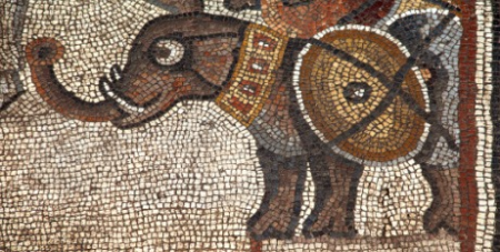 The 5th century mosaic