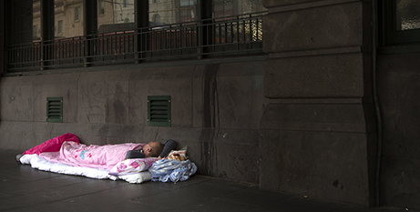 """People experiencing homelessness can't """"go home"""" to self-isolate (Bigstock)"""