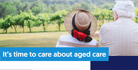 More than 1000 organisations are behind the campaign (careaboutagedcare.org.au)