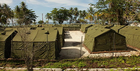 Manus Island regional processing facility in 2012 (Wikipedia-flickr-DIAC)