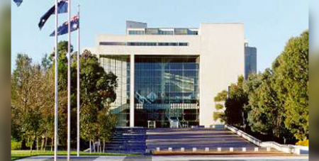 The High Court of Australia in Canberra (HIgh Court website)