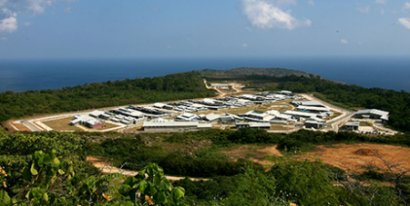 The Christmas Island Immigration Detention Centre when it was in operation in 2008 (Wikimedia/DIAC)