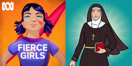 The Fierce Girls podcast on Mary MacKillop (ABC Radio/Supplied)