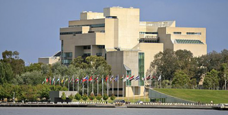 The High Court of Australia in Canberra (WikiCommons)