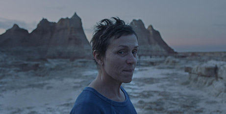 Frances McDormand in Nomadland (CNS/Searchlight Pictures)