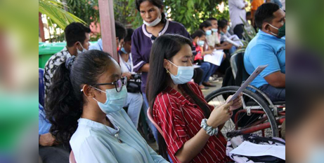 A first batch of the AstraZeneca vaccine is expected to arrive in East Timor in early April (UCA News/UNICEF)