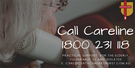 The Careline service will operate in Bathurst from 9am to 5pm weekdays (Bathurst Diocese)