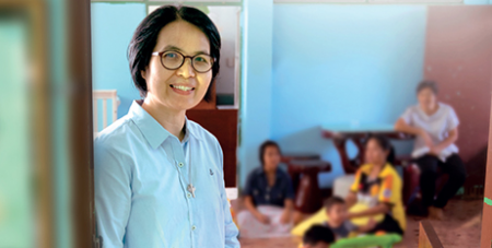 This work of the Good Shepherd Sisters in Thailand is the focus of Catholic Mission's 2021 appeal (Catholic Mission)