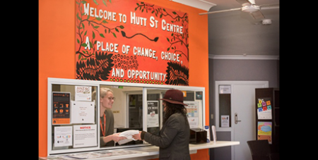 The Hutt Street Centre will have $1.2 million cut from its budget (Hutt Street Centre)