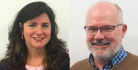 Anne Walker and Br Peter Carroll FMS (CRA)