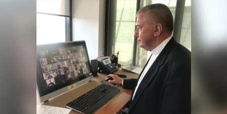 Videoconferencing technology will be utilised for the upcoming bishops' plenary meeting (Catholic Voice)