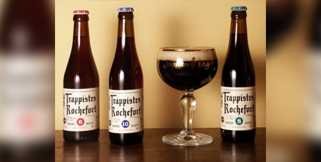 Beer made by Trappists monks in Rochefort, Belgium (Facebook/Trappistes Rochefort)