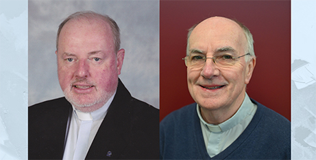 Msgr Anthony Ireland and Fr Martin Ashe (Melbourne Archdiocese)