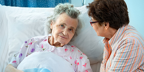 Aged care visits will be restricted to carers only with a limit of one hour per day (Bigstock)