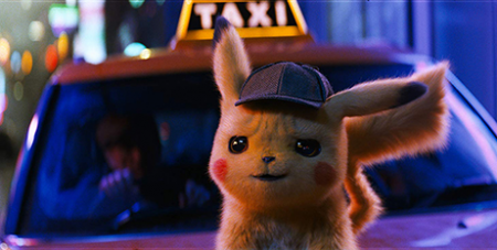 Ryan Reynolds is Pikachu in Pokémon: Detective Pikachu (IMDB)