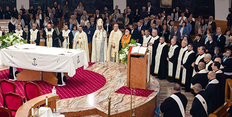 The Mass of Thanksgiving for the expanded Maronite eparchy at Our Lady of Lebanon Co-Cathedral, Harris Park on Tuesday (Maronite Eparchy)