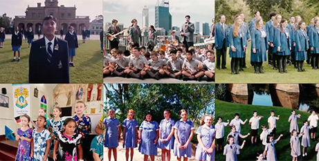 Students from across Australia feature in the
