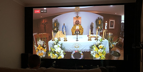 Churches in Victoria will be allowed to livestream services in the next seven days while places of worship are closed (Supplied)