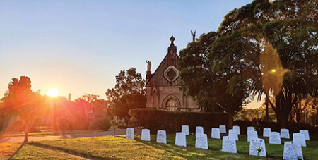 The Berejiklian Government will now renegotiate the management of Sydney cemeteries with the Catholic Metropolitan Cemeteries Trust (The Catholic Weekly/Giovanni Portelli)