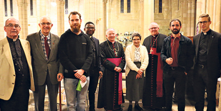 Anglican and Catholic representatives mark the 10th anniversary of the covenant (The Catholic Leader/Michelle McDonald)