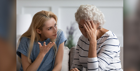 UnitingCare Queensland's Elder Abuse Prevention Unit found that 96 per cent of abuse happened within family relationships (Bigstock)