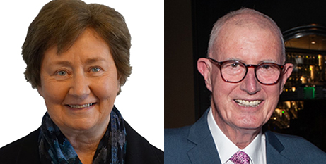 Sr Adele Howard and Chris Rigby are among this year's Queen's Birthday honour recipients (Supplied)