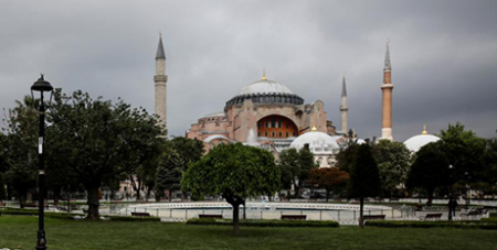The Hagia Sophia in Istanbul, Turkey, is currently used as a museum (CNS/Umit Bektas, Reuters)