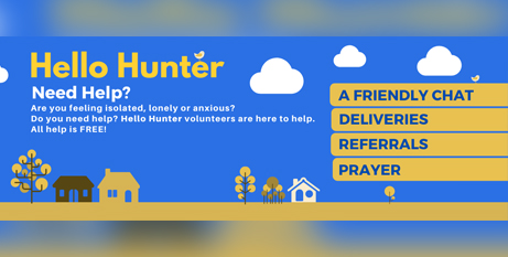 Hello Hunter sees local churches working together to meet the needs of vulnerable people (Facebook/Hello Hunter)