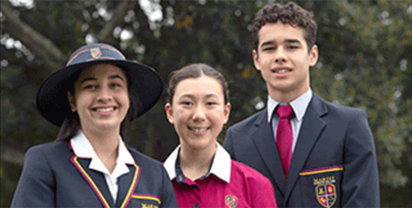 Girls will make up half of the school's year 7 intake for 2021(Marist College North Sydney)