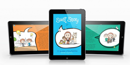 Saint Story is the first ebook for children on St Mary MacKillop (Gozo Bonkers)