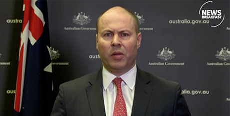 Josh Frydenberg (ABC News Breakfast screenshot)