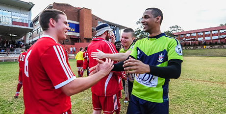 Until now, the annual seminarians soccer match has been the only opportunity for Australia