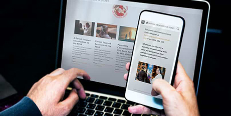 The online initiatives cover a wide array of aspects of the Catholic faith  (Archdiocese of Sydney Centre for Evangelisation)