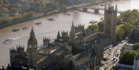 The Houses of Parliament in London (CNS/Kieran Doherty, Reuters)