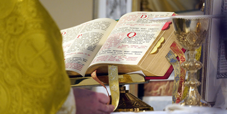 Pope Francis released his motu proprio restricting use of the 1962 Latin rite last week (CNS/Gregory A. Shemitz)