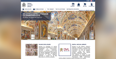The new website went live in mid-July (CNS)