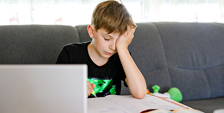 """""""Entrenched inequality"""" made remote learning tougher for students with disability, according to Children and Young People with Disability Australia (Bigstock)"""