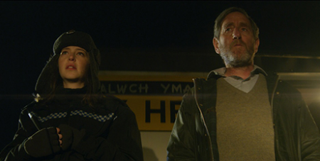 Annes Elwy and Michael Smiley in The Toll (Supplied)