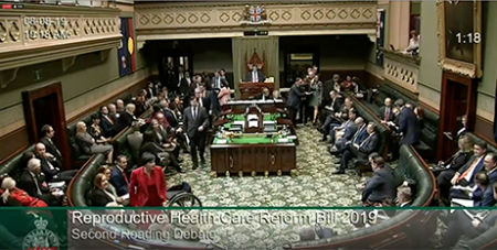 The NSW Parliament passed the bill 59 votes to 31 (SBS News)