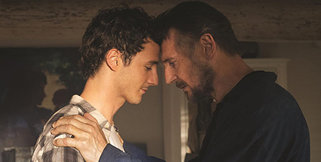 Micheál Richardson and Liam Neeson in Made in Italy (IMDB)